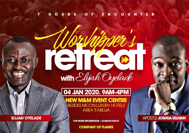 EVENT: Elijah Oyelade set to Kick off the Year with 7Hours Worshipper's Retreat [@elijahoyelade]