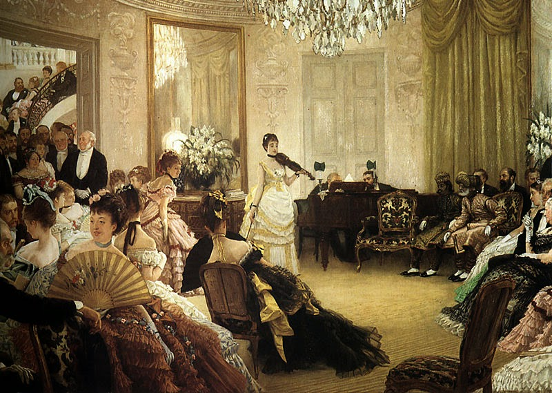 Silêncio - As principais pinturas de James Tissot ~ Francês