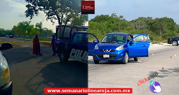 Asesinan a un hombre luego de dejar a su hijo en una escuela de Playa del Carmen; y posteriormente hubo persecución a balazos
