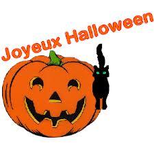 Halloween - nagłówek - Francuski przy kawie