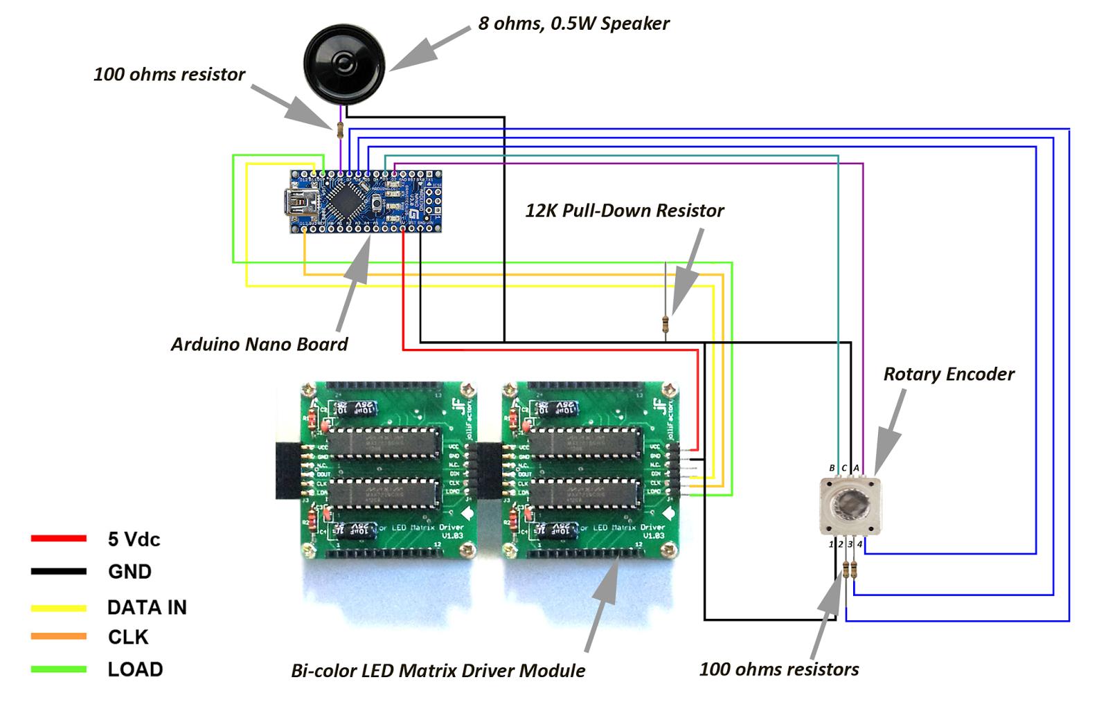 jolliFactory: Arduino based Bi-color LED Matrix Pong Game
