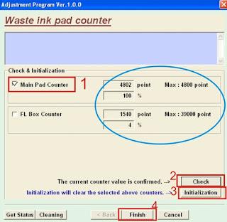 Resetter Printer T13