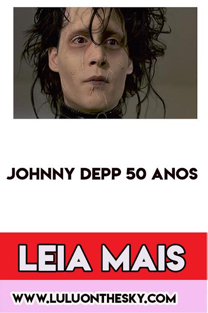 Johnny Deep celebra 50 anos.