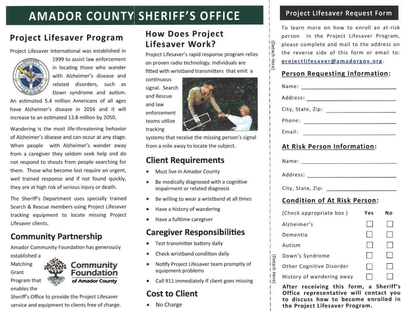 AmadorElders org: Amador County Sheriff's