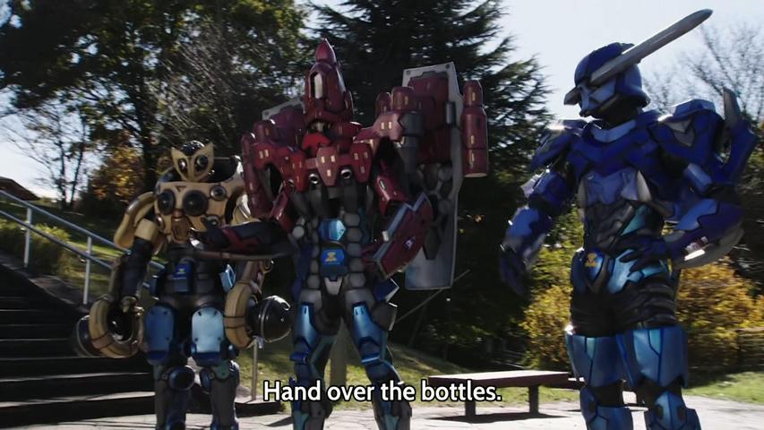 Kamen rider build episode 17