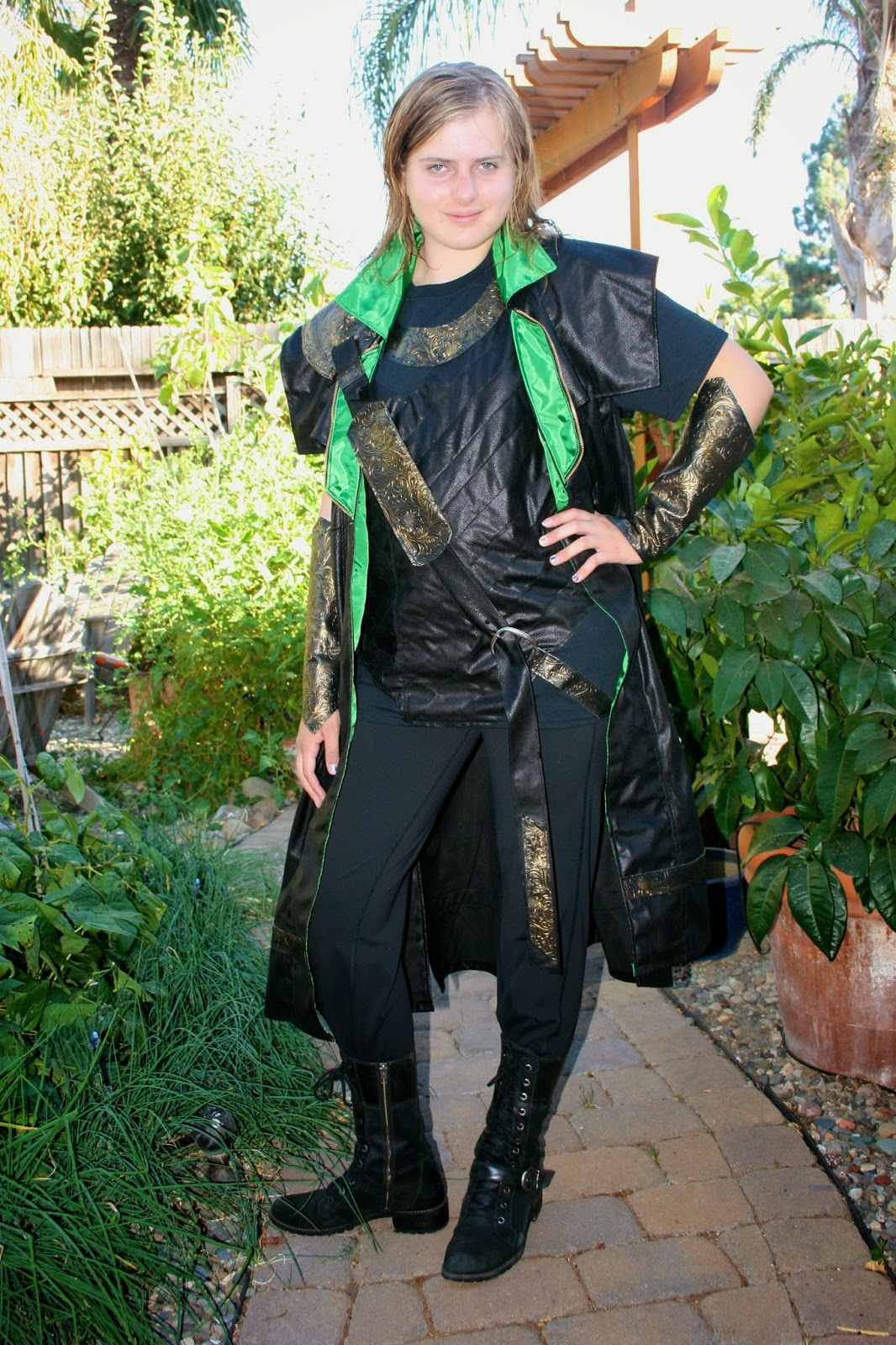 Fabric and ink and everyday life a loki costume learning to sew ok take a look at the finished costume and then scroll back to the top and check out the real loki not bad though i do say it myself solutioingenieria Choice Image