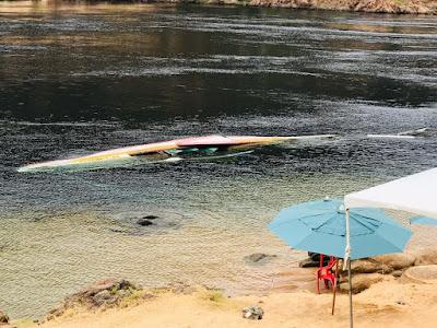 Em Piranhas, Canoa de Tolda sofre ato de vandalismo