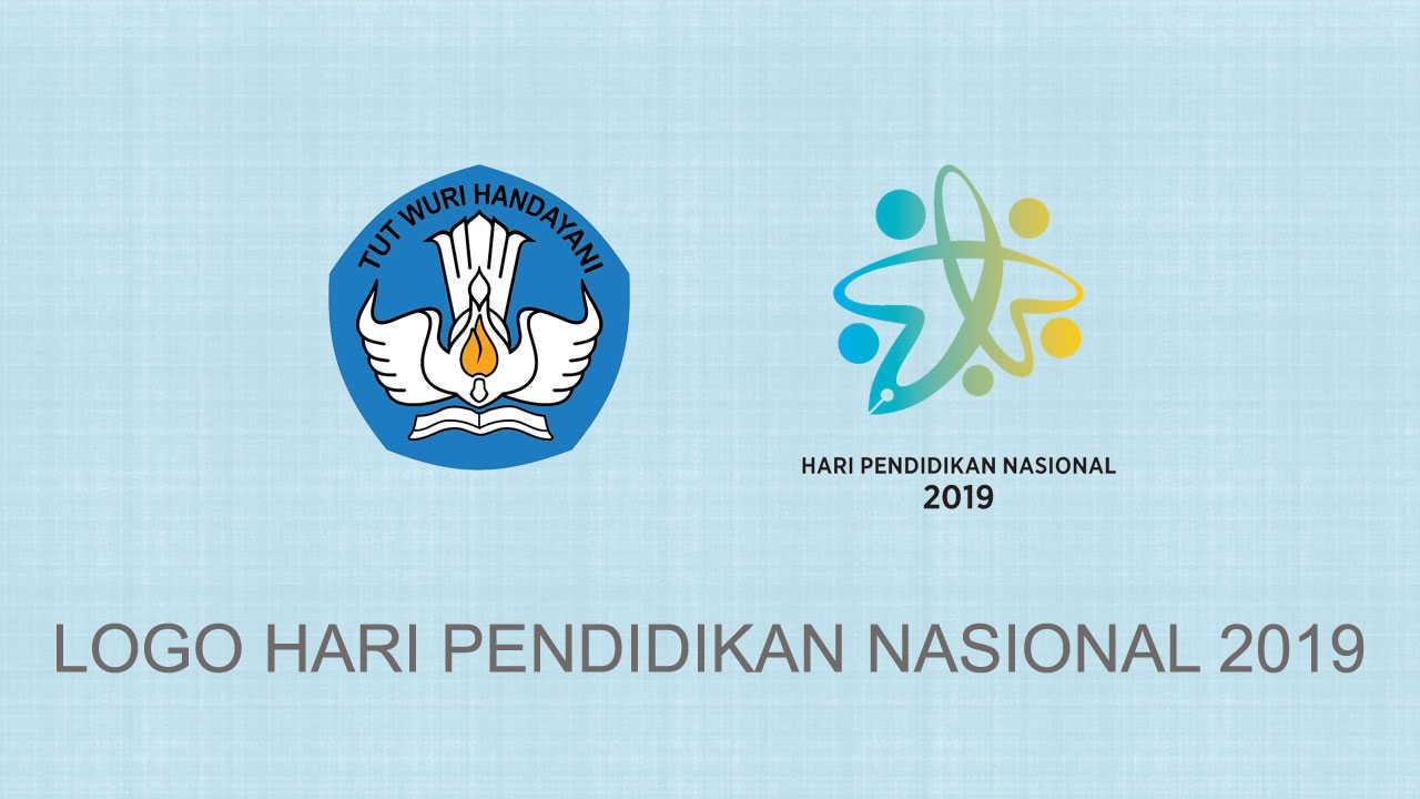 Logo Resmi Hari Pendidikan Nasional 2019