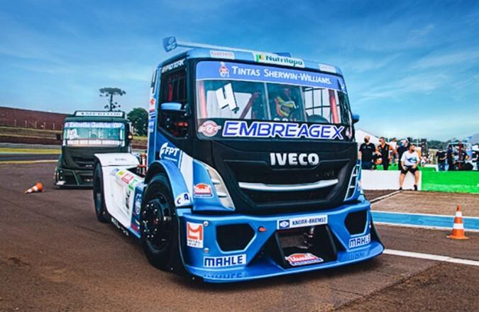 Sherwin-Williams patrocina equipe Iveco Usual Racing na Copa Truck 2021
