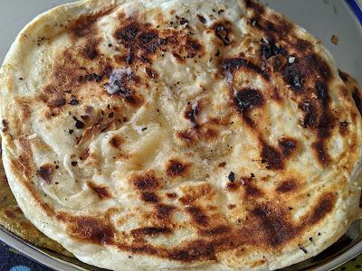 Butter Naan without Yeast