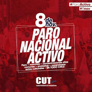 """Los """"tiempos mejores"""" de Piñera ahogan a los consumidores: Siete y más razones para avanzar al Paro Nacional Activo del 8 de noviembre"""