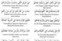 Teks Lirik Ya Ala Baitin Nabi | Arab Latin dan Artinya [Lengkap]