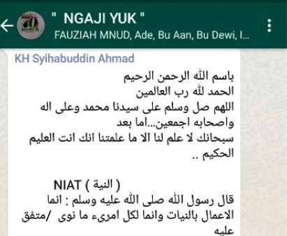 Nama Grup WA Islami