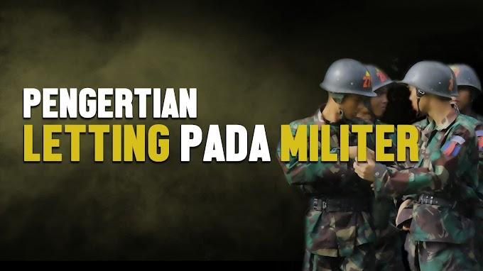 Siapa Sangka, Ternyata Inilah Makna Dan Arti Letting Bagi Prajurit TNI