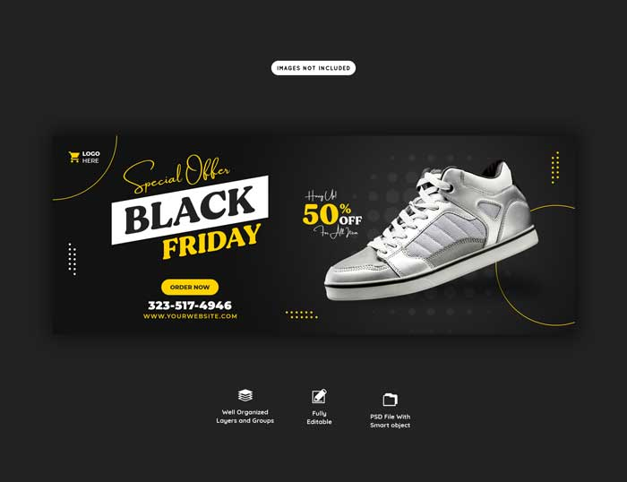 Special Offer Black Friday Banner Template