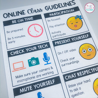 distance learning guidelines