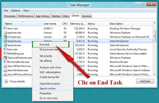 End .CNMHR File Virus related task