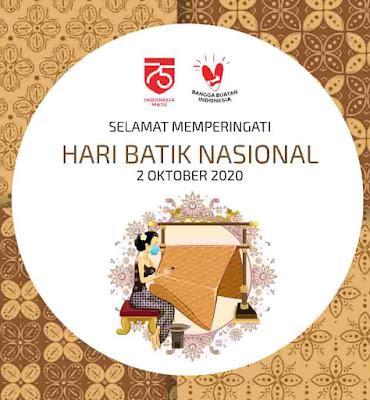 ucapan hari batik nasional