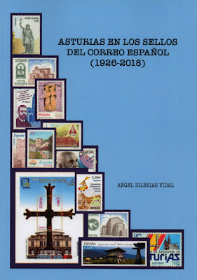 Libro: Asturias en los sellos del Correo Español