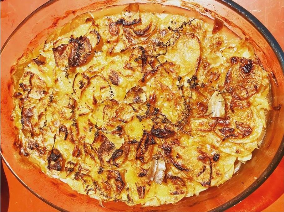 """Картофель""""Буланжер"""": безумно вкусная и простая """"томленая"""" запеканка"""