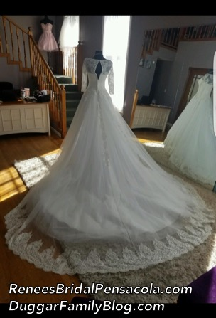 Jinger Duggar Wedding Dress.Duggar Family Blog Duggar Updates Duggar Pictures Jim Bob And