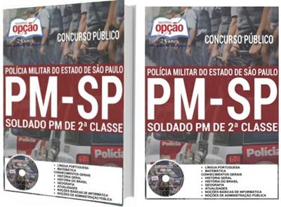 Apostila Polícia Militar de São Paulo - PMSP 2017