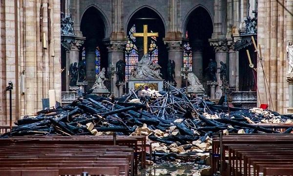 Estrago na Catedral