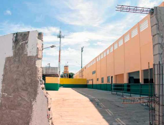 Estadio Eurico Gaspar Dutra reforma 2019