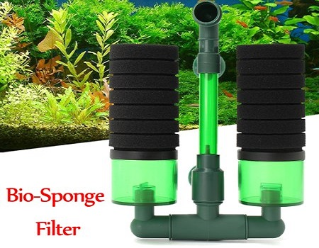 Double Bio Sponge Filter with optional compartments