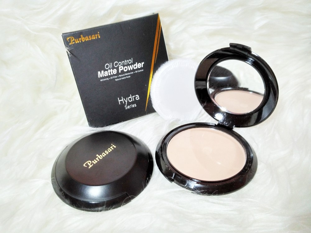 Review Purbasari Oil Control Matte Powder - A Girl