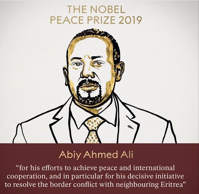 Nobel Peace Prize, 2019