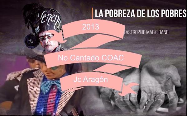 """✨Pasodoble """"La pobreza de los pobres"""" ⚫No cantado en el Falla de 🥇JC Aragón """"Catastrophic Magic Band"""" (2013)"""