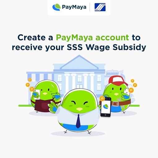 PayMaya-SSS Wage Subsidy
