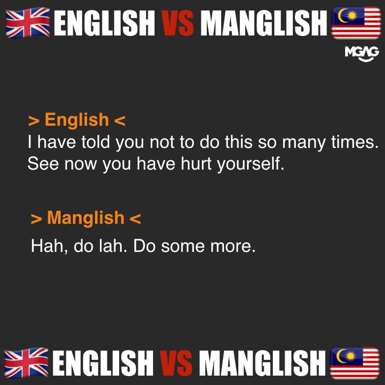 British English vs Malaysian English