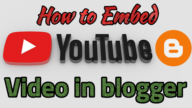How to Embed Youtube video in Blog