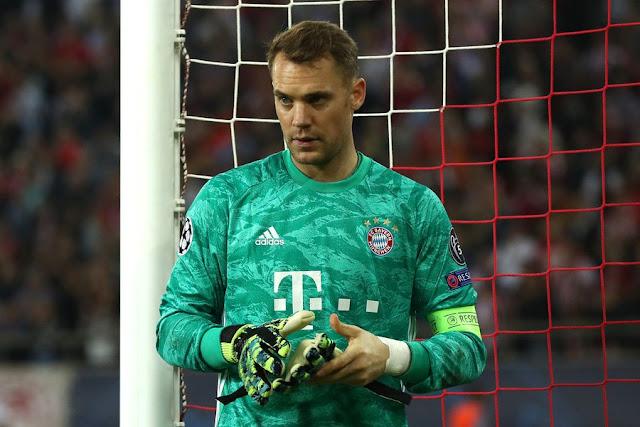 Bayern có nguy cơ mất đội trưởng Manuel Neuer