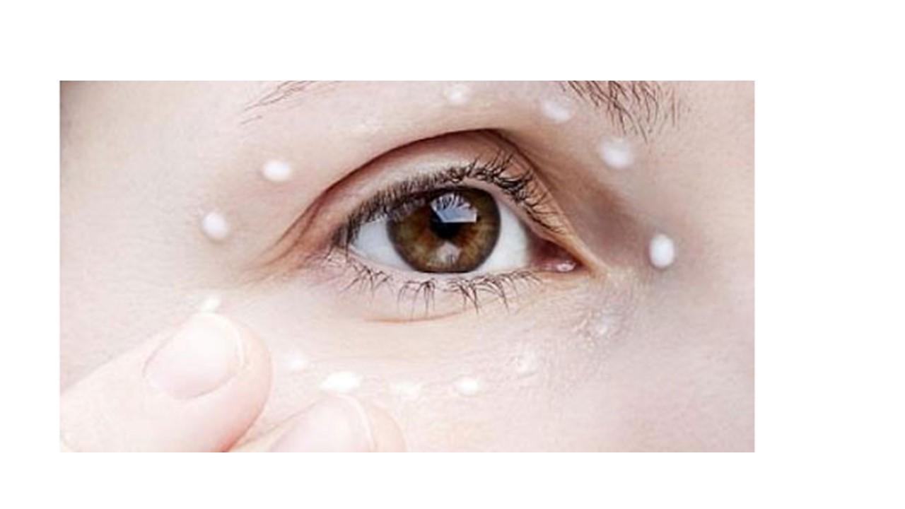 Göz kreminin doğru kullanımı