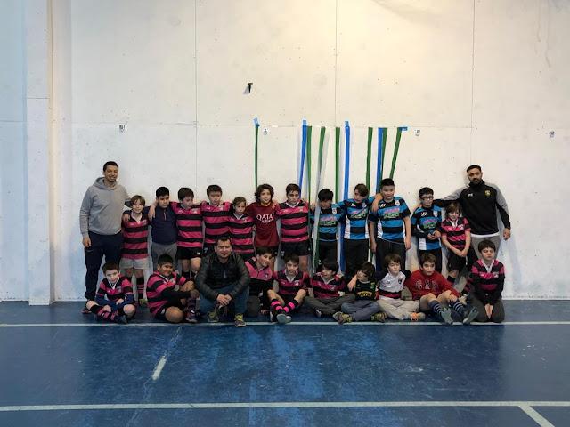 Más de 50 chicos presentes en el encuentro de Rugby Tag