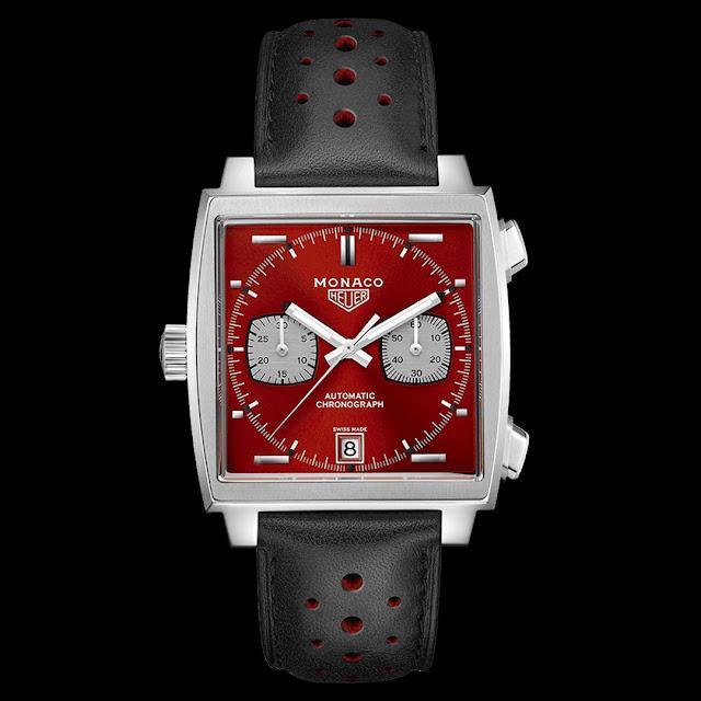 TAG Heuer Monaco Calibre 11 50th Anniversary 1980's Special Edition Ref. CAW211W.FC6467