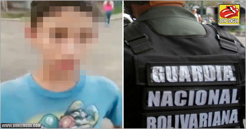 GNB torturó y abusó de un niño de 11 años en Anzoátegui