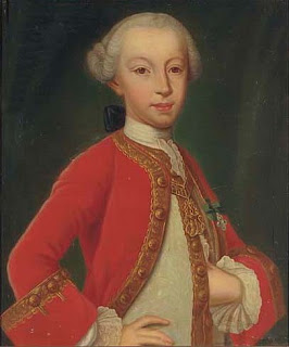 Court painter Domenico Duprà's portrait of Charles Emmanuel IV