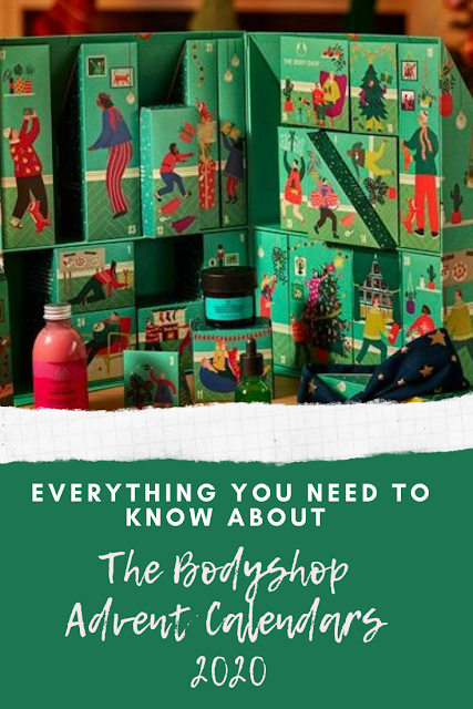 The Bodyshop 2020 Advent Calendars - Launching Today