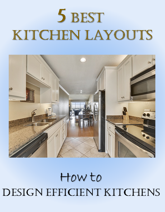 Simple Interior Concepts 5 Best Kitchen Layouts How To Design Efficient Kitchens