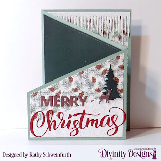 Stamp/Die Duos: Deer Ornament (sentiment), Custom Dies: Z Fold with Layers, Pickup Truck, Merry Christmas, Icicle Border, Trees & Deer, Curvy Slopes, Circles, Scalloped Circles, Paper Collection: Rustic Christmas