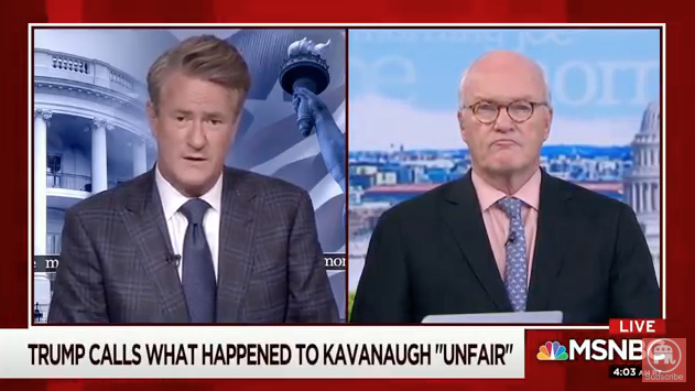 Scarborough: 'I Challenge' Media to Investigate How Dems Handled Ford Accusations