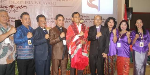 Oalah! Gereja Methodis Indonesia Ikut-ikutan Dukung JR Saragih