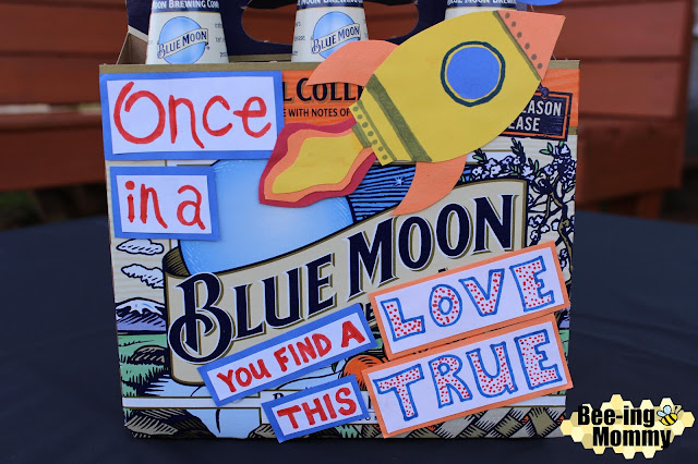 Bee Ing Mommy Blog Decorative Beer Box Gifts Blue Moon