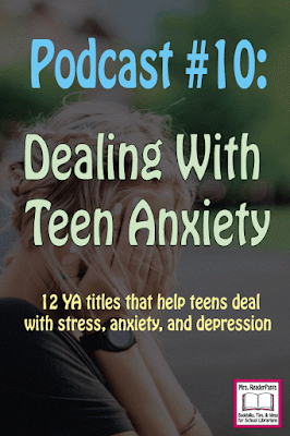 Anxiety is a real issue for many of today's teens (and adults), myself included. I know I try so hard to be perfect ...