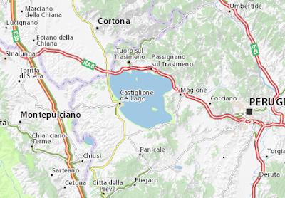Viaggynfo: Laghi piu' belli in Italia: Lago Trasimeno (Umbria)
