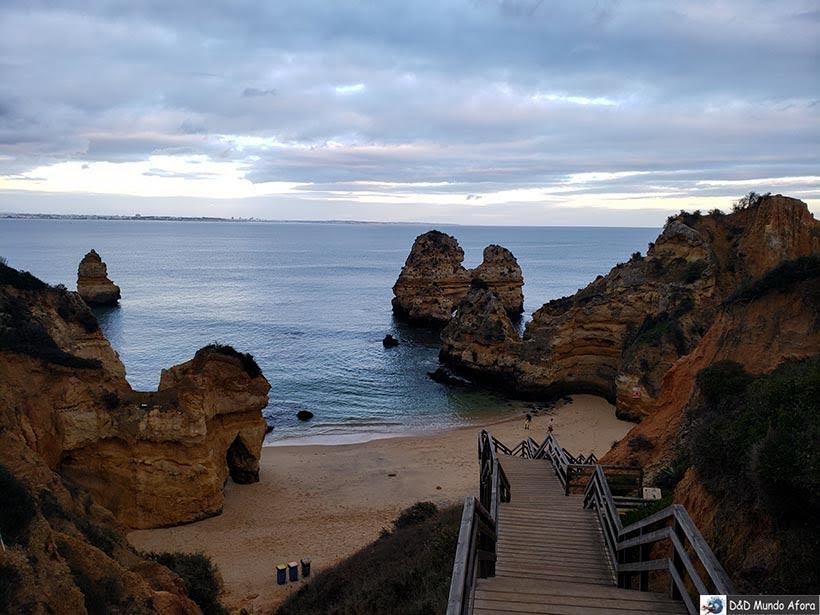 Praia do Camilo no Algarve